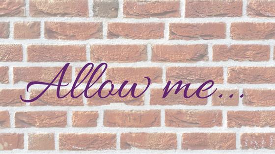 Allow me...